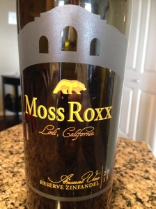 Moss Roxx Ancient Vine Reserve Zinfandel 2013