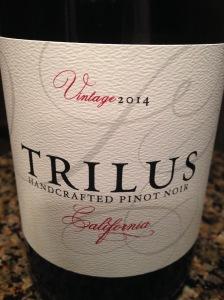 Trilus Pinot Noir 2014