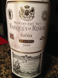 Marques de Riscal Rioja