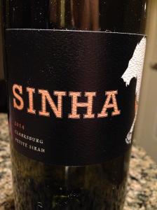 Sinha Petite Sirah