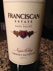 Franciscan Estate Cab