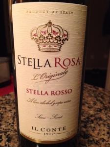 Il Conte D'Alba Stella Rosa Rosso