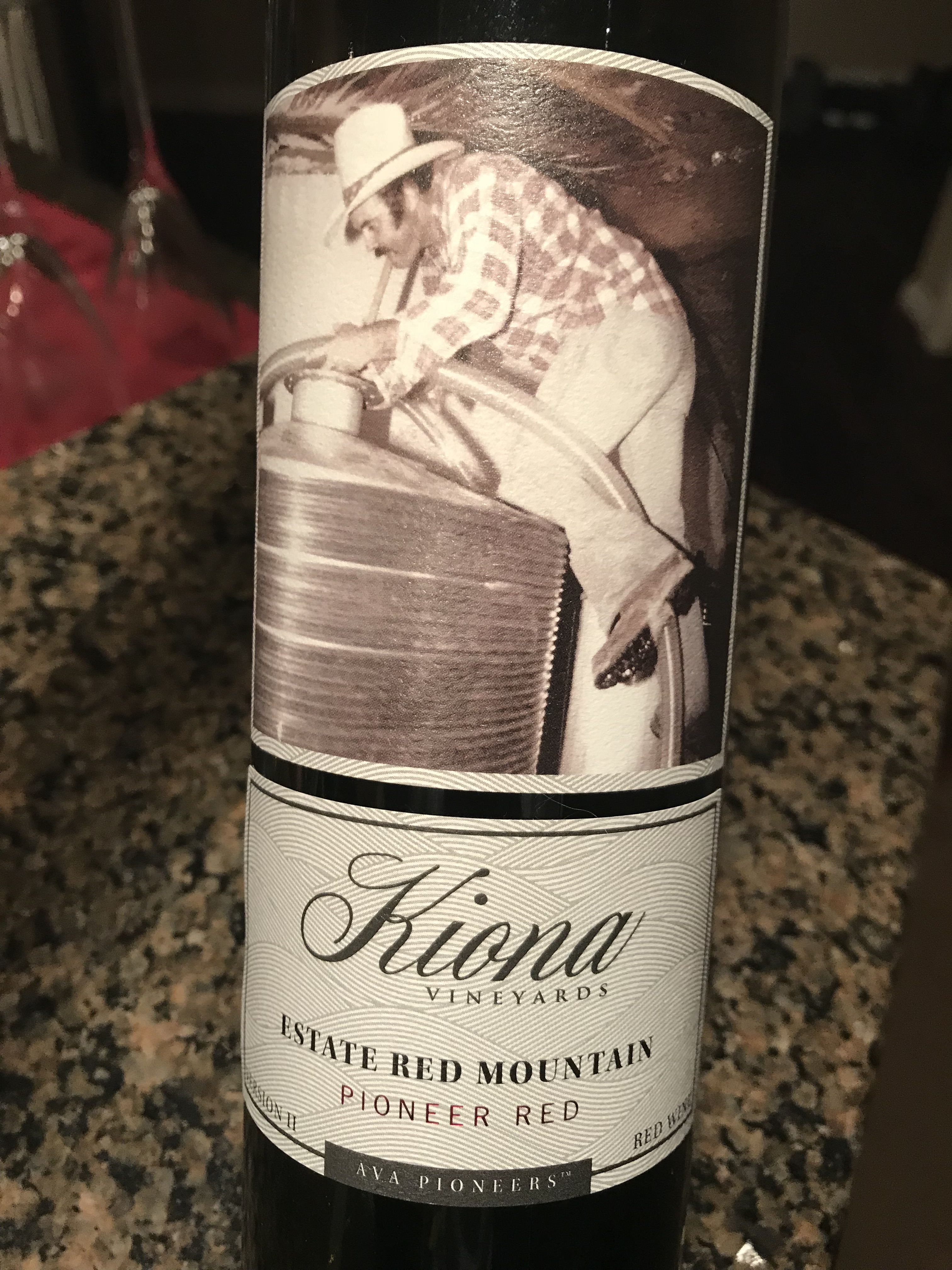 Kiona Estate Red Mountain - Pioneer Red - Version II